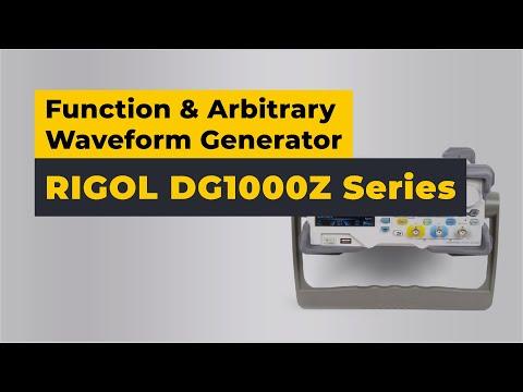 Rigol DG1000Z Series Function/Arbitrary Waveform Generator Review