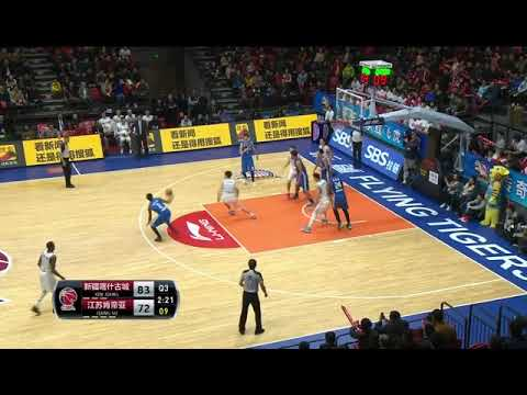 MarShon 47pts vs Xinjiang Tigers in 16-17CBA
