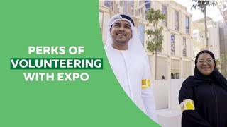 A glimpse of what Expo 2020 offers you as a volunteer