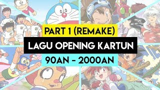 [14.67 MB] Lagu Opening Kartun/Anime 90an Bahasa Indonesia PART 1 REMAKE