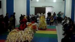 KUNG FU NHAN VO DAO CHINESE LION DANCE GRAND MASTER RAMON YEE