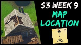 Follow the Treasure Map Found at Moisty Mire (Fortnite: Season 3 Week 9 Battle Pass Challenges)