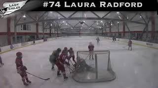 2018-2019 #74 Laura Radford GY 2023 Carolina Lady Eagle Highlights