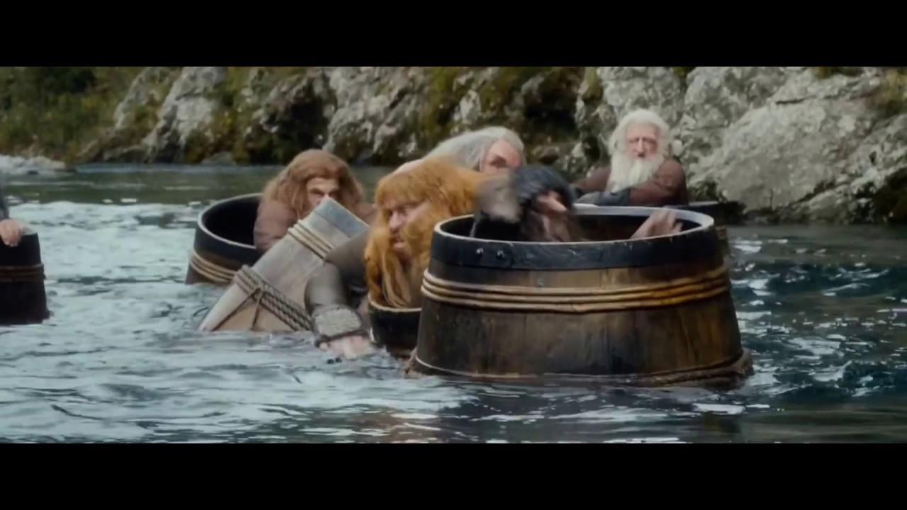 Download Hobbit 4k Angry-Cut: Barrel-Riders