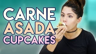How to Cook: Carne Asada Cupcakes | MeganBatoon