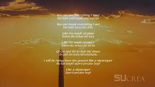 Skyscraper - Demi Lovato Lirik terjemahan Indonesia [MUSIC]