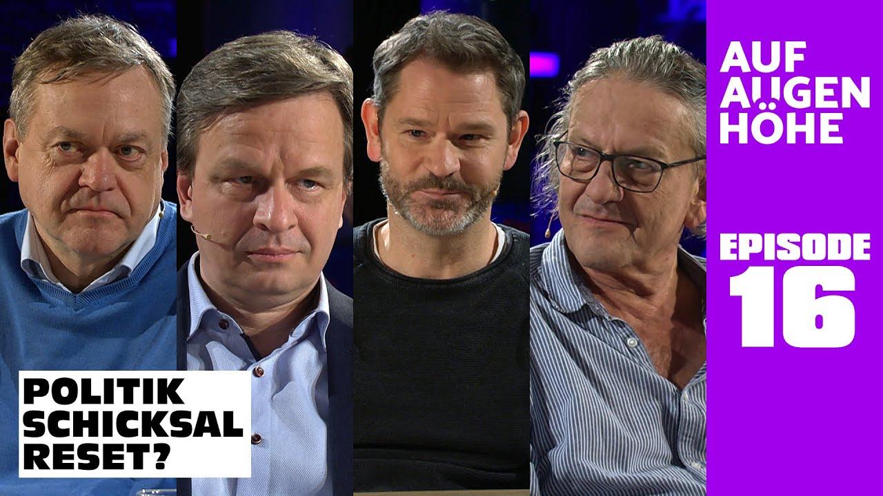 POLITIK – SCHICKSAL – RESET? mit Dirk Pohlmann, Matthias Burchardt, Kai Lüdders u. Walter van Rossum