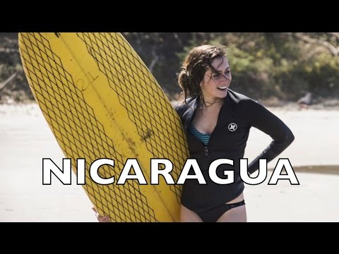 FAIRE DU SURF AU NICARAGUA