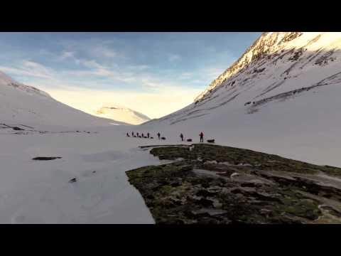 Skiing in Sarek- The Harsh and the Beautiful