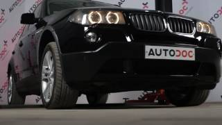 Video instrukcijas jūsu BMW X3