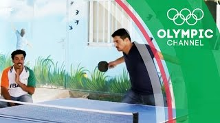Syrian Refugees Relish the Taste of Home with Table Tennis | Camps to Champs