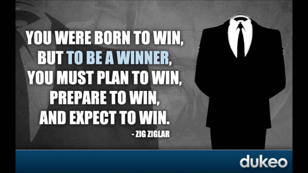 Winning Motivational Quotes