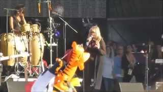 Bonnie Tyler - Clips of Total Eclipse & Holding Out For A Hero - Rewind Festival - South - 2014