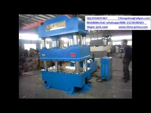 china Double cylinders YQ32 series four column hydraulic press 400ton with CE& ISO certificated