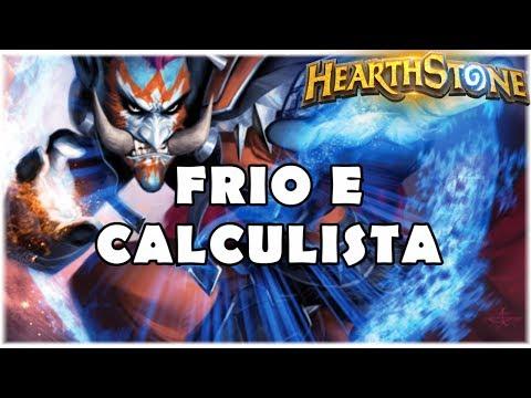 HEARTHSTONE - FRIO E CALCULISTA! (WILD FREEZE MAGE)