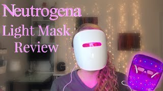 Neutrogena Light Mask Acne Therapy Mask Review | Nikki Stixx