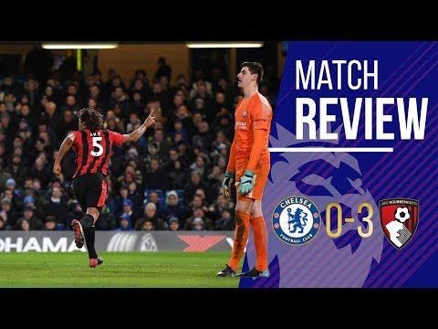 Chelsea 0 - 3 bournemouth match review live || it was coming...