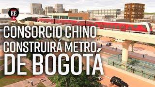 ¡Metro de Bogotá ya tiene constructor! Consorcio chino se quedó con la licitación - El Espectador