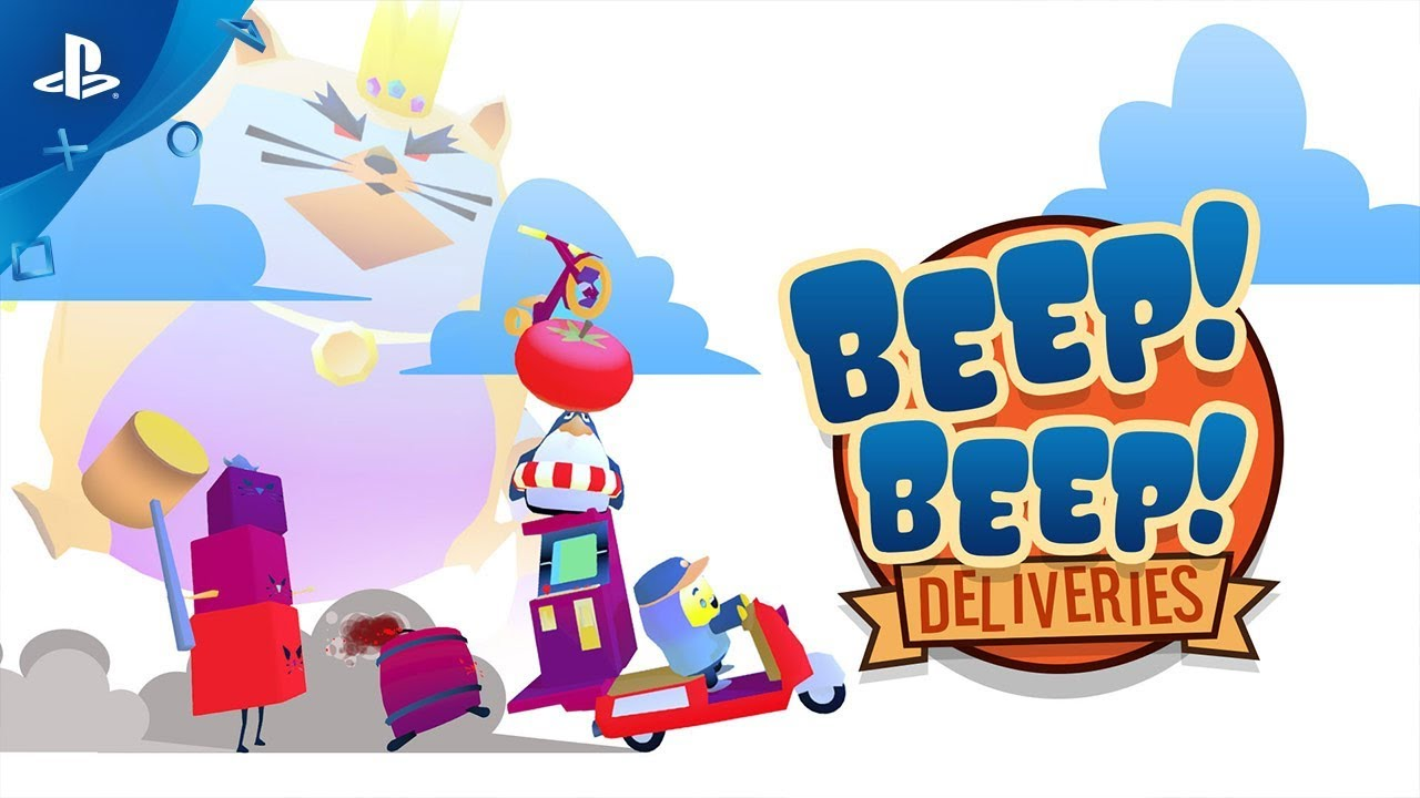Beep! Beep! Deliveries - Launch Trailer | PS4