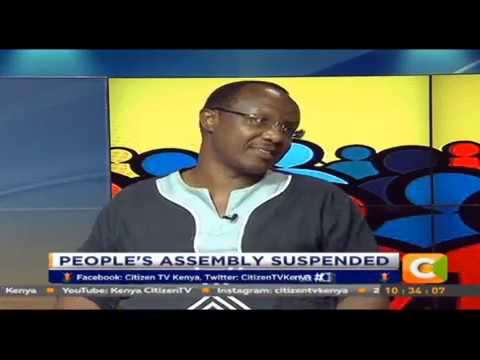 Citizen Extra: David Ndii: I am not disappointed we had to suspend People's Assemblies