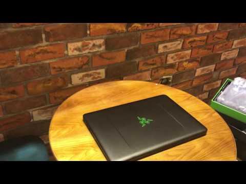 Mở Hộp Laptop Gaming Razer Blade 14  VGA GTX1060 6GB