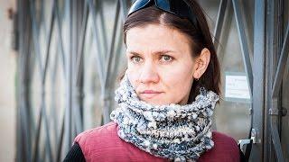 Tuto tricot : cache-col en grosse laine fantaisie