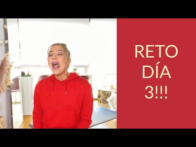 DÍA 3 DEL RETO!!!! GOFIO YOGA + AYUNO LOW CARB