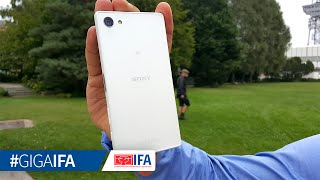 Sony Xperia Z5 Compact - Hands-On - GIGA.DE