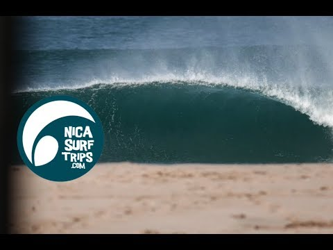 PLAYA COLORADO NICARAGUA SURF REPORT MARCH 19 2018 W/@trsurfing