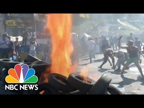 RAW: Renewed Unrest In Ukraine   NBC News