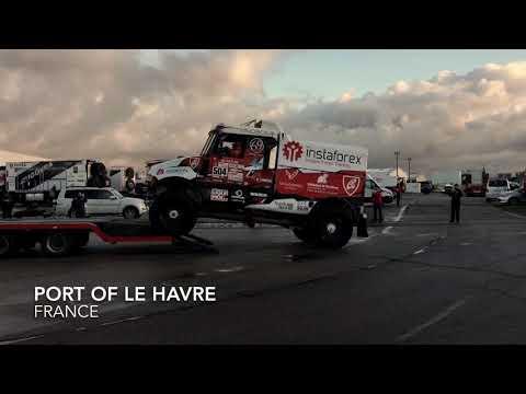 InstaForex Loprais Dakar Truck Boarding in France