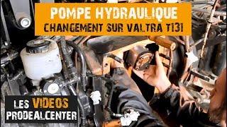 Remplacer la POMPE HYDRAULIQUE sur tracteur Valtra : quelle GALÈRE !