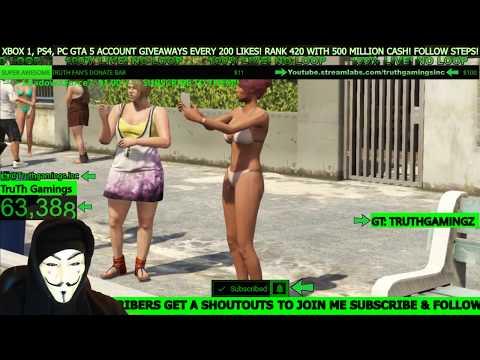 GTA 5 Fun Sessions! Subscribers Get Rich! Lots of Fun!