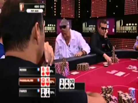 Poker Cheaters: Poker Final in France 2009 - Partner Play with Signals and Codes Cheated All Table