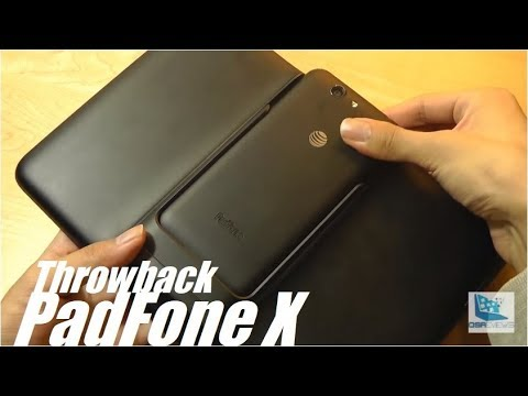 Throwback Review: Asus PadFone X - Phone/Tablet Convertible