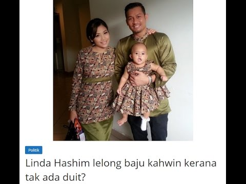 Kenapa Linda Hasyim Lelong Baju Kahwin ?