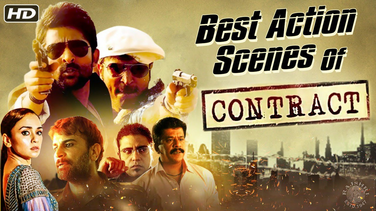 Best Of Contract | Best Action Scenes Of Contract Hindi Movie | Ram Gopal Varma | Adhvik Mahajan