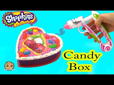 Playdoh DohVinci DIY Season 4 Shopkins Custom Candy Box Valentines Day Holiday Craft Video