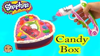 Playdoh DohVinci DIY Season 4 Shopkins Custom Candy Box Valentines Day Holiday Craft Video