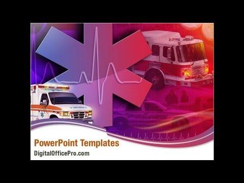 First Aid Car Powerpoint Template Backgrounds Digitalofficepro