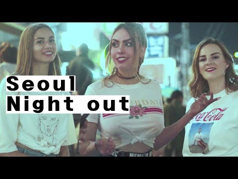 Crazy Seoul Night Out | Night Life in Korea | Interview in Hongdae | 한국의 밤문화