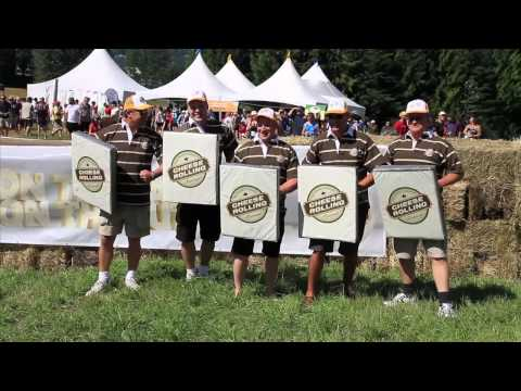 2010 Canadian Cheese Rolling Festival at its best!