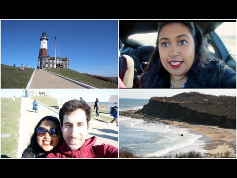 Trip to the Montauk Point Lighthouse and Beach Vlog