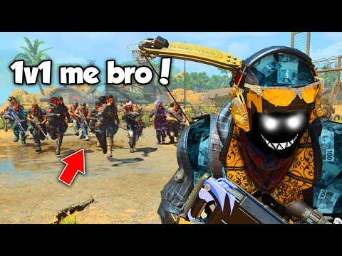 1v1 Me Bro.. 😂 (Black Ops 4 Funny Moments & Reactions)