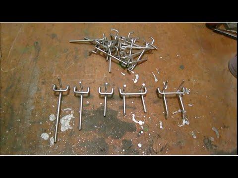 Крючки для перфорации своими руками