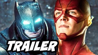 Batman v Superman Viral Teaser Trailer and The Flash Arrow Q&A