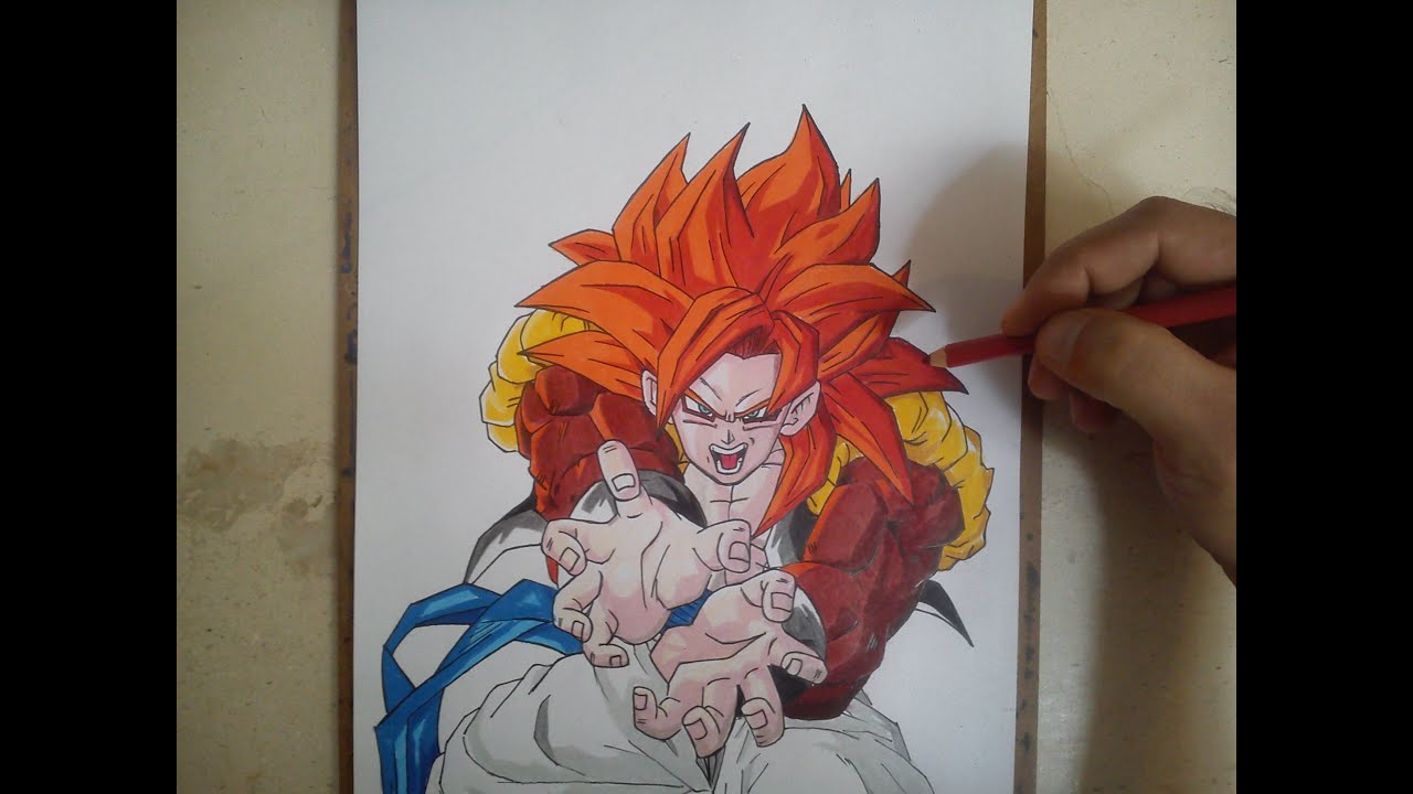 Como Dibujar A Gogeta Ssj4 How To Draw Gogeta Ssj4 Youtube