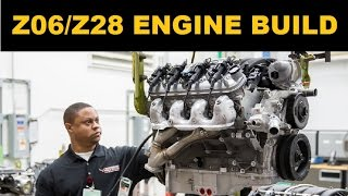 Corvette Z06 (LT4) and Camaro Z/28 (LS7) Engine Build