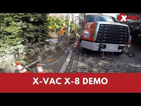 X-Vac X-8 Demo
