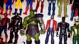 mi coleccion de titan hero series actualizada